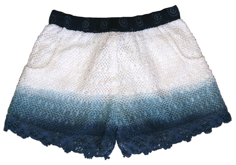 Ocean Waters Dip Dyed Shorts