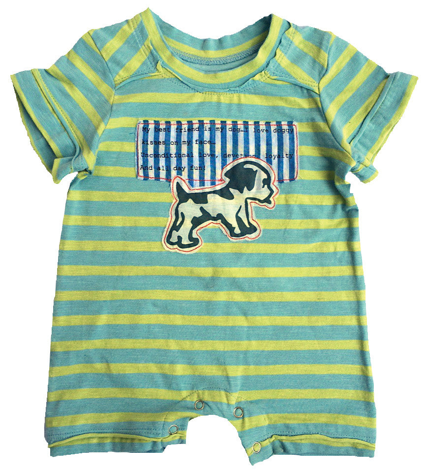 Doggie Kisses Romper