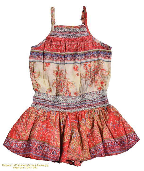 Summer in Tuscany Romper