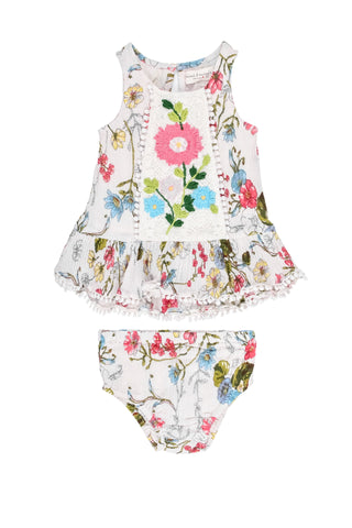 Scattered Flowers 2PC Set