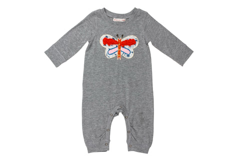 Butterfly Patch Romper