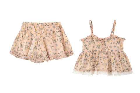 Blossom Cami & Short 2 Piece Set- Blush
