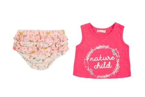 Nature Child Tee, Diaper Cover