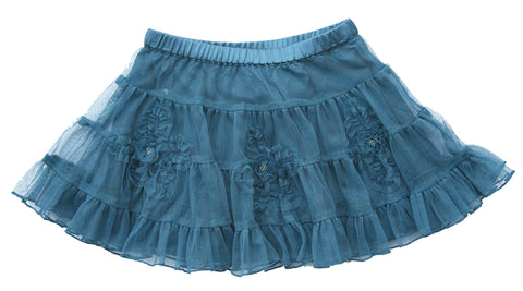 Twirling Dancer Skirt - Blue