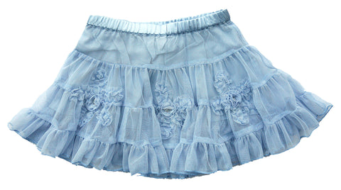 Twirling Dancer Skirt Blue