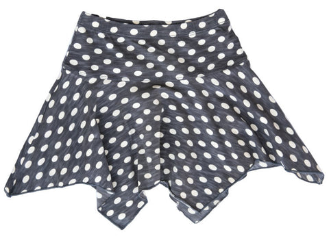 Handkerchief Dot Skirt-CHR