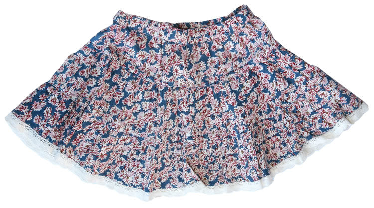 Small Flowers Twirly Skirt