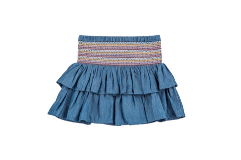 Farmhouse Denim Skirt