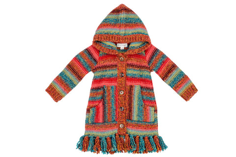 New Mexico Desert Fringe Sweater