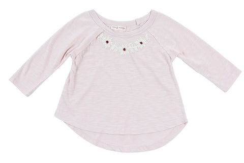 Thalia Knit Top-Pink