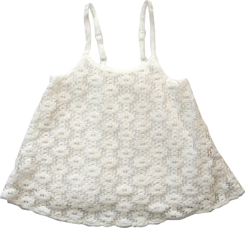 Flowing Crochet Lace Cami