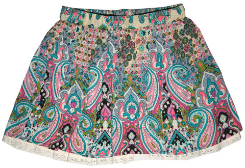 Venetian Holiday Skirt - Natural