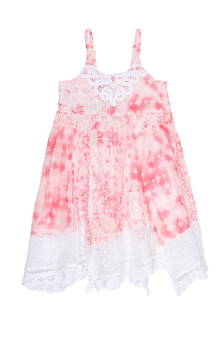 Island Cloud Dress-Rose