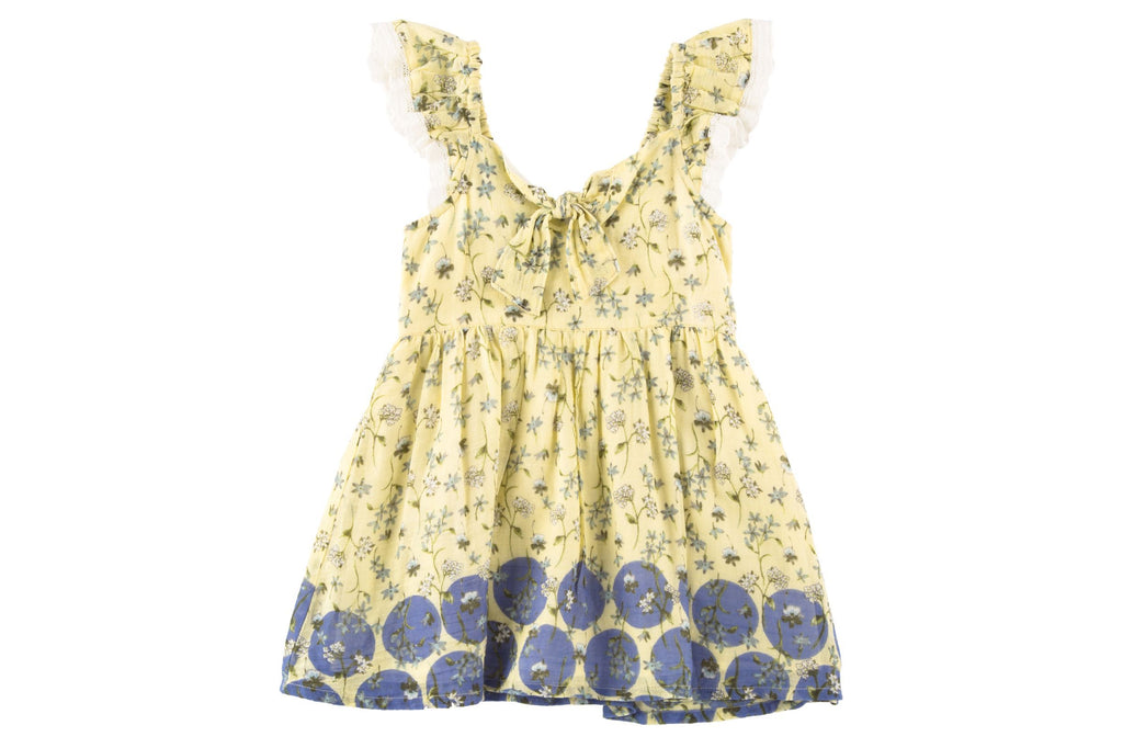 Amy Dress- Yellow