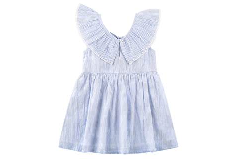 Gracie Tie Back Ruffle Dress