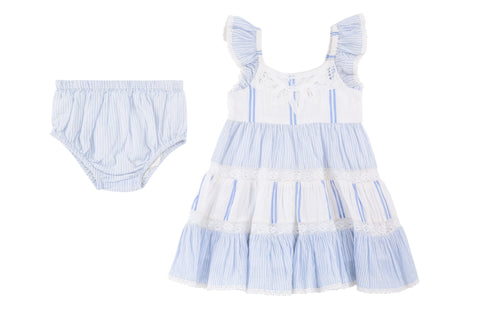 Sky Dress & Diaper Cover