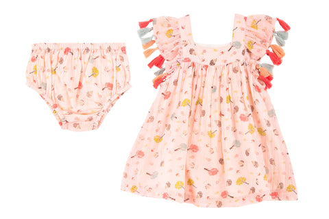 Enchanted Forest Dress- Pink