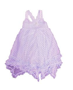 claire dress lavender