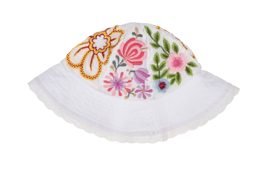 Beautiful Embroidered Sun Hat