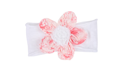Cloud Flower Headband-Rose