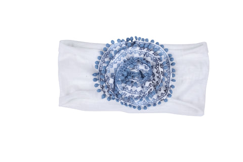 Summer in Paradise Headband-Blue