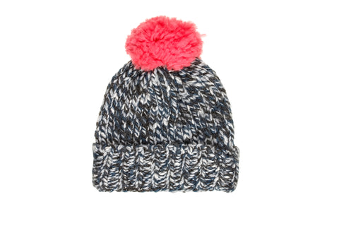 Knit Beanie with Pompom