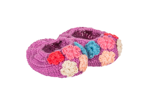 Multi Color Crochet Flowers