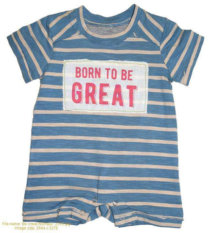 Be Great Romper
