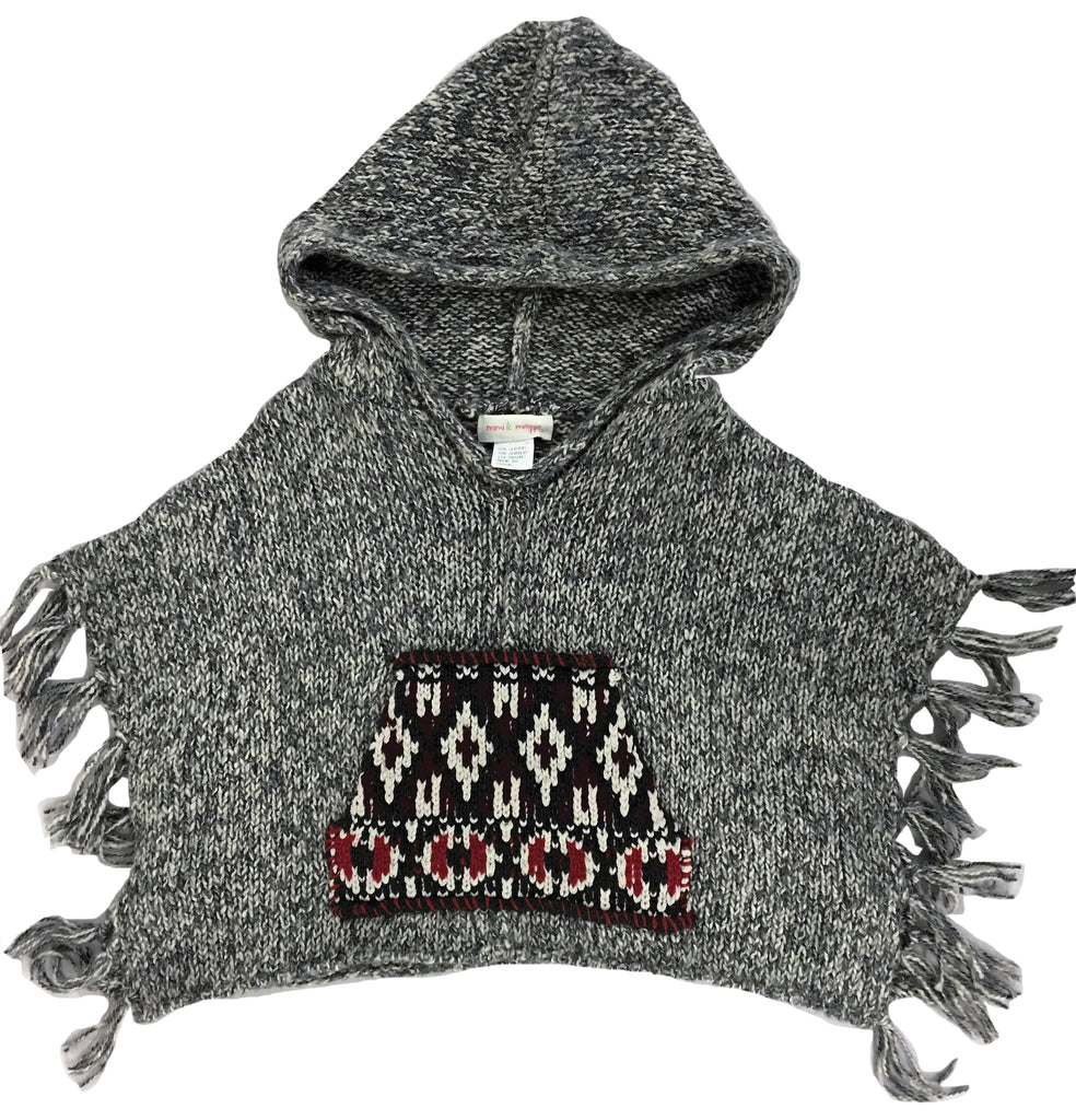 Reservation Hoodie Poncho-sweaters