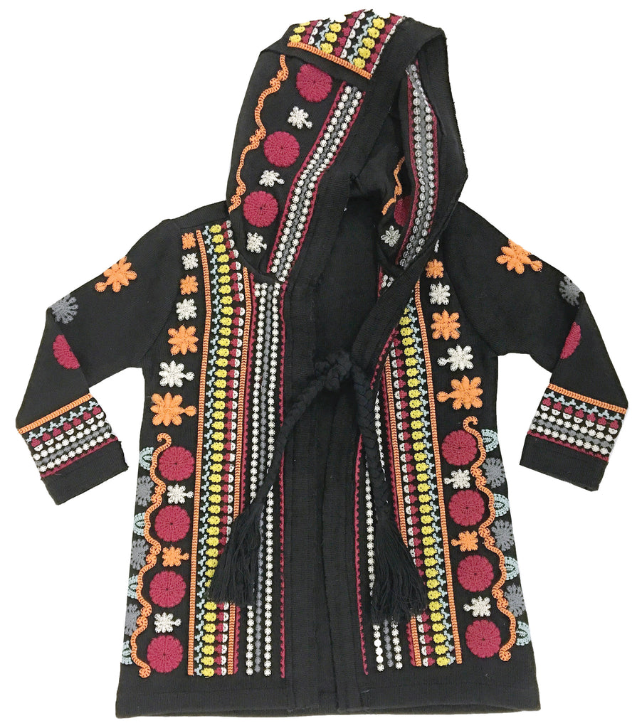 Tapestry Coat Black-jackets