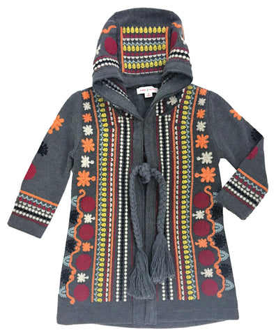 Tapestry Coat Charcoal-jackets