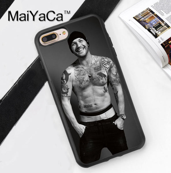 Tom Hardy Esquire Shirtless iPhone Series Phone Case