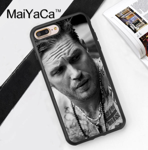 Tom Hardy Model iPhone Case