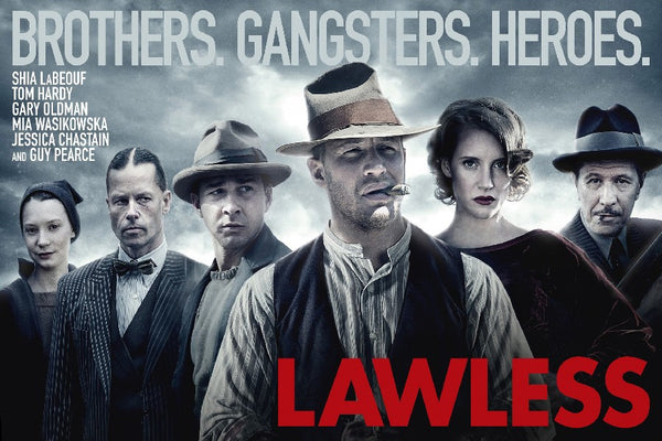 Lawless Movie Film Poster Silk Fabric Print