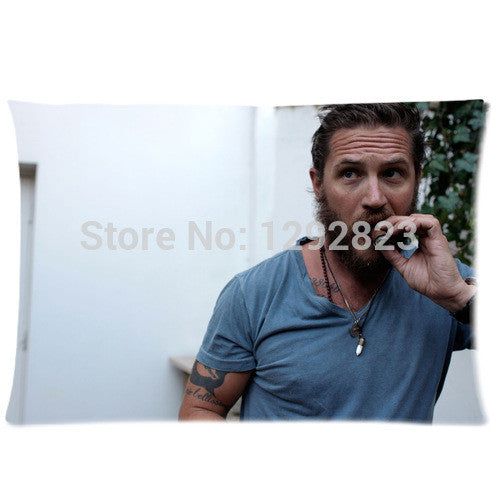 Tom Hardy Sexy Smoking Pillowcase 20x30