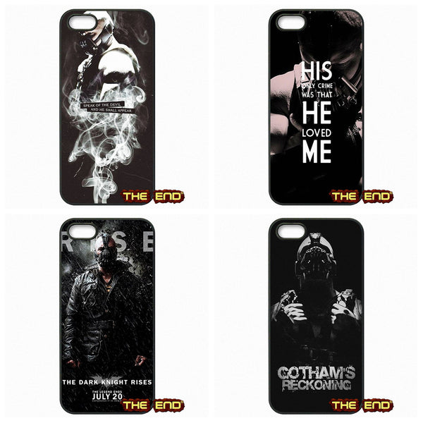 Tom Hardy As Bane The Dark Knight Rises Phone Case For iPhone Series