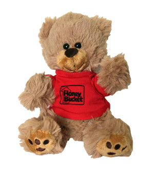 Honey Bucket Teddy Bear