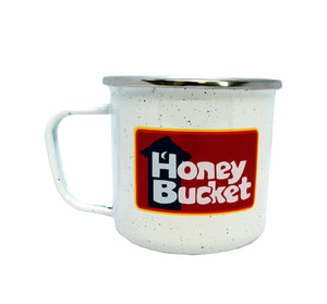 Honey Bucket Enamel Camp Mug
