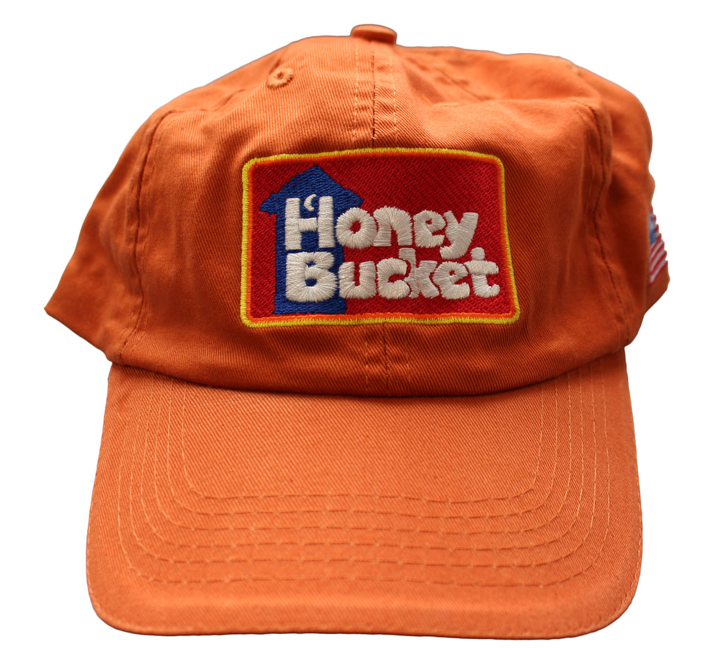 Orange Honey Bucket Hat