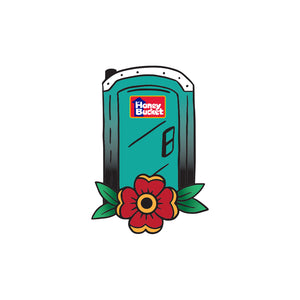 Honey Bucket Temporary Tattoo Sheet