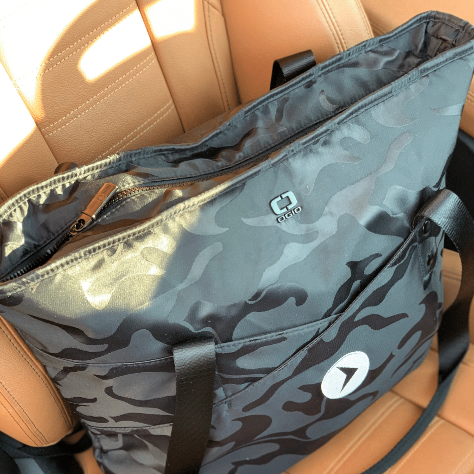 Black Camo Pump & Baby Bag (Ltd. Edition)