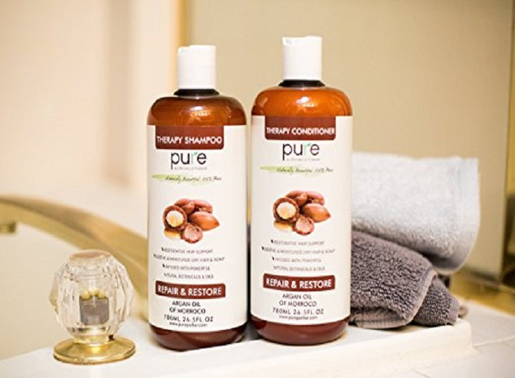Why You Should Go For Argan Oil Shampoo And Conditioner