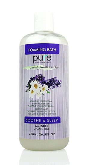 PURE Aromatherapy Lavender and Chamomile Bubble Bath, 26.5 oz