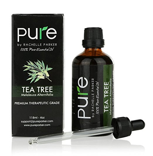PURE Tea Tree Essential Oil, Aromatherapy Premium Therapeutic Grade Essential Oil with dropper