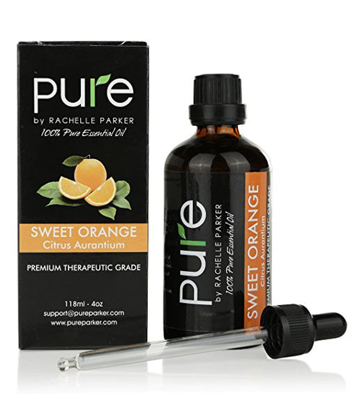 Pure Sweet Orange Essential Oil, Aromatherapy Premium Therapeutic Grade with dropper