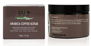 100% Organic Arabica Coffee Scrub 12 oz.