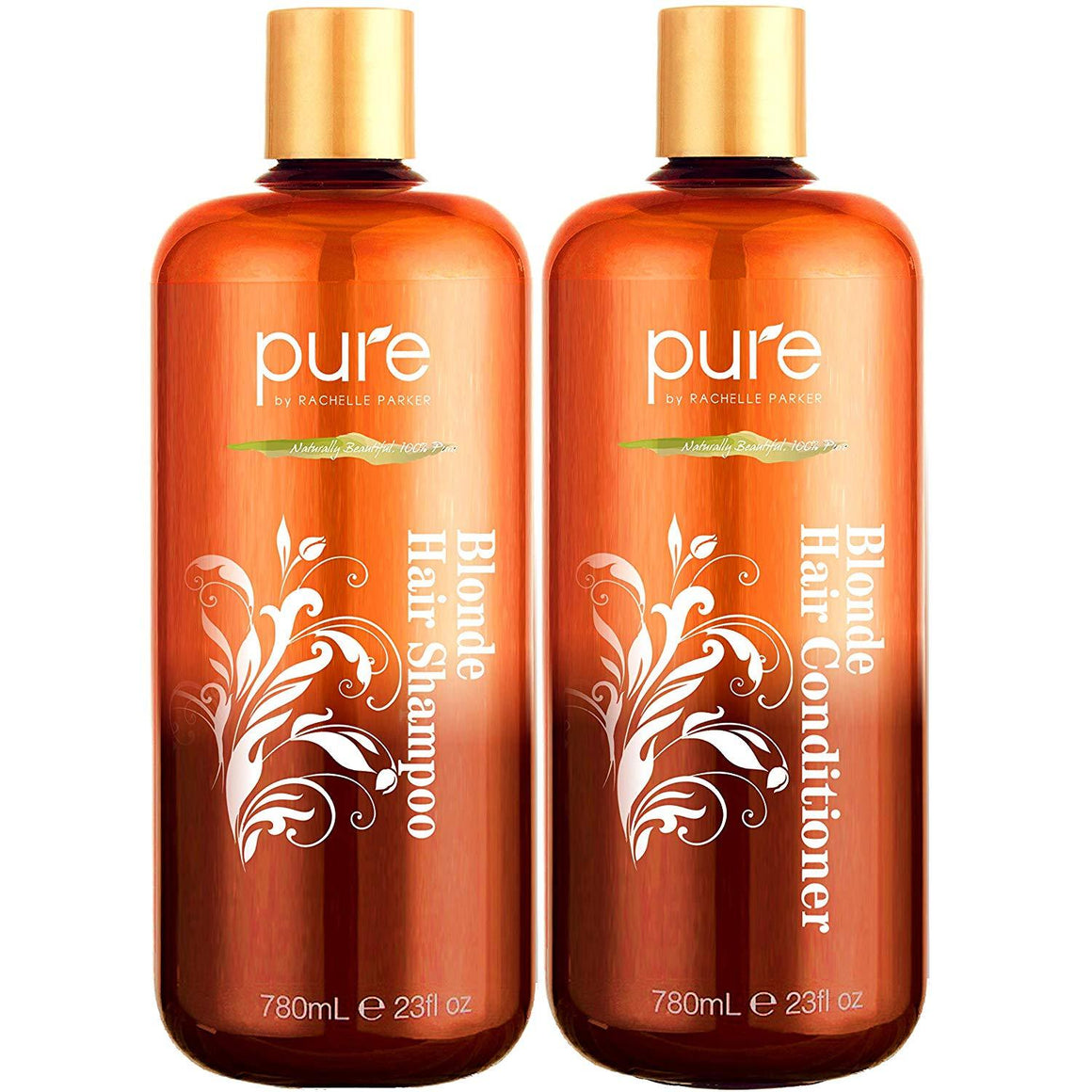 Shampoo and Conditioner for Blonde Hair.