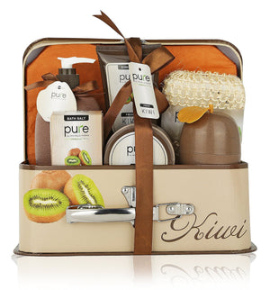 Spa in a Basket -Natural Spa Kit Best Gift Set for Women