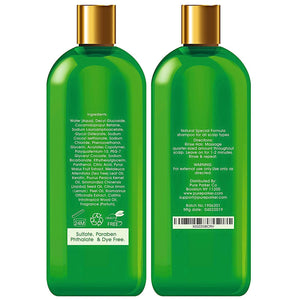 Pure Natural Oily Hair Shampoo for Men & Women
