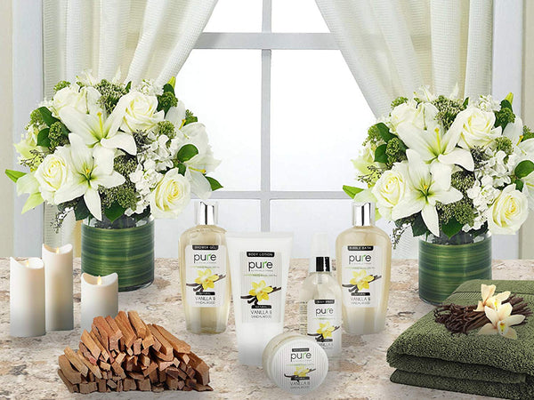 PURE Spa Gift Basket for Men & Women